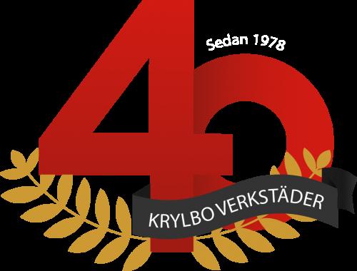 40 år logo - KVAB 1 version 3 Vit text