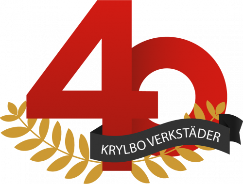 40 år logo - KVAB 1 version 3 Vit text
